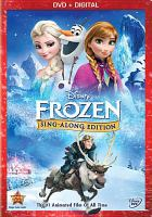 Cover image for Frozen : Sing-along edition [videorecording DVD]