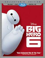 Cover image for Big hero 6 [videorecording Blu-ray]