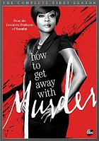 Cover image for How to get away with murder. Season 1, Complete [videorecording DVD]