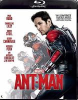 Cover image for Ant-Man [videorecording Blu-ray]