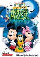 Cover image for Mickey Mouse Clubhouse. Mickey's monster musical [videorecording DVD]