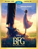 Cover image for The BFG [videorecording Blu-ray]