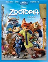 Cover image for Zootopia [videorecording Blu-ray]