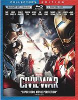 Cover image for Captain America : civil war [videorecording Blu-ray]