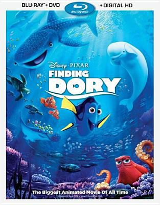 Cover image for Finding Dory [videorecording Blu-ray]