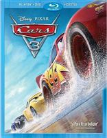 Cover image for Cars 3 [videorecording Blu-ray]