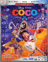 Cover image for Coco [videorecording Blu-ray]