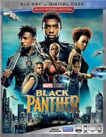 Cover image for Black Panther [videorecording Blu-ray]