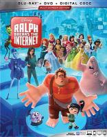 Cover image for Ralph breaks the internet [videorecording Blu-ray]