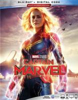 Cover image for Captain Marvel [videorecording Blu-ray] (Brie Larson version)