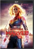 Cover image for Captain Marvel [videorecording DVD] (Brie Larson version)