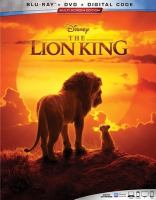 Cover image for The lion king [videorecording Blu-ray] (Live action)