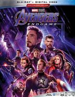 Cover image for Avengers, endgame [videorecording Blu-ray]