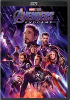 Cover image for Avengers, endgame [videorecording DVD]