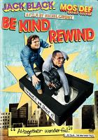 Cover image for Be kind rewind