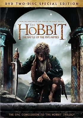 Cover image for The hobbit. Part 3 [videorecording DVD] The battle of the five armies