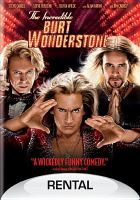 Cover image for The Incredible Burt Wonderstone