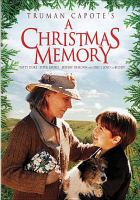 Cover image for A Christmas memory [videorecording DVD]