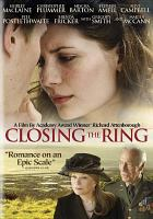 Cover image for Closing the ring