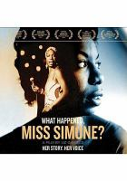Cover image for What happened, Miss Simone? [sound recording CD]