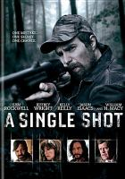 Cover image for A single shot