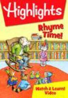 Imagen de portada para Highlights [videorecording DVD] : Rhyme time!