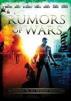 Cover image for Rumors of war [videorecording DVD]