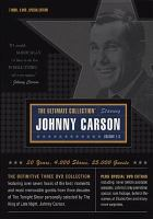 Cover image for The ultimate Carson collection. Vol. 1-3 [videorecording DVD] : The Tonight Show.