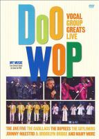 Cover image for Doo wop vocal group greats