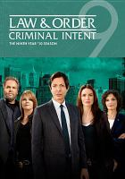 Cover image for Law & order: Criminal intent. Season 09, Complete