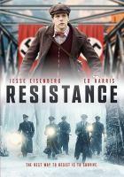 Cover image for Resistance [videorecording DVD] (Jesse Eisenberg version)