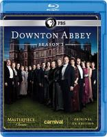 Cover image for Downton Abbey. Season 3, Complete [videorecording Blu-ray]