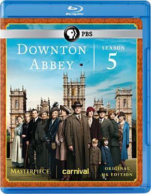 Cover image for Downton Abbey. Season 5, Complete [videorecording Blu-ray]