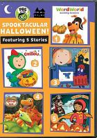 Cover image for Spooktacular Halloween [videorecording DVD]