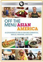 Cover image for Off the menu [videorecording DVD] : Asian America