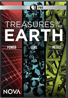 Cover image for Treasures of the earth [videorecording DVD] : power, gems, metals