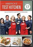Cover image for America's test kitchen. Season 17, Complete [videorecording DVD]