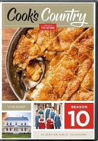 Cover image for Cook's country. Season 10, Complete [videorecording DVD] : from America's Test Kitchen