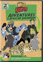 Cover image for Wild Kratts. Adventures on the African savannah [videorecording DVD]