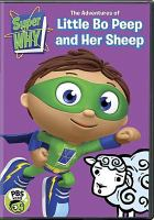 Cover image for Super Why! [videorecording DVD] : The adventures of Little Bo Peep and her sheep