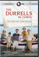 Cover image for The Durrells in Corfu. Season 3, Complete [videorecording DVD]