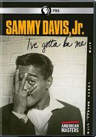 Cover image for Sammy Davis, Jr. [videorecording DVD] : I've gotta be me