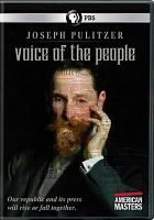 Cover image for Joseph Pulitzer [videorecording DVD] : voice of the people