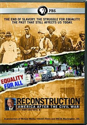 Cover image for Reconstruction [videorecording DVD] : America after the Civil War
