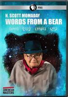 Cover image for N. Scott Momaday words from a bear [videorecordingi iDVD]