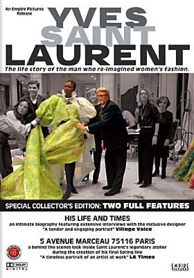 Cover image for Yves Saint Laurent his life and times