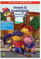 Cover image for Sid the science kid. Season 1, volume 3 [videorecording DVD] : Invent & investigate.