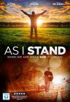 Cover image for As I stand [videorecording DVD]