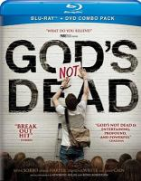 Cover image for God's not dead [videorecording Blu-ray]