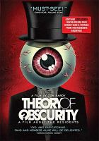 Cover image for Theory of obscurity [videorecording DVD] : a film about the Residents